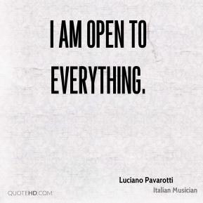 Luciano Pavarotti Italian Musician