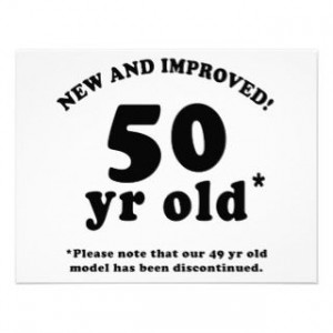 Funny 50th Birthday Over The Hill Gag Gifts 50th Birthday Gag Gifts