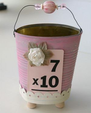 70th Birthday Tin. Fill it with York peppermint patties? :)