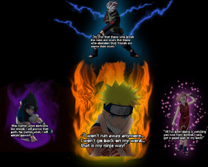 Naruto Quotes About Never Giving Up Naruto quote wallpaper by
