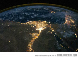 Funny photos funny Nile river night Earth space