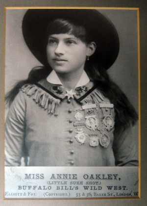 Oakley Quotes A photo of annie oakley shows the legendary sharpshooter ...