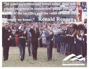 Reagan Memorial Day Quotes