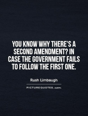 Government Quotes Rush Limbaugh Quotes