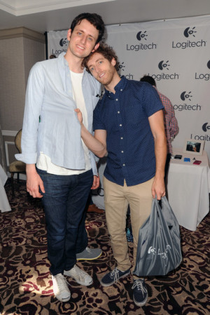 Zach Woods Actors Zach Woods L and Thomas Middleditch attends the