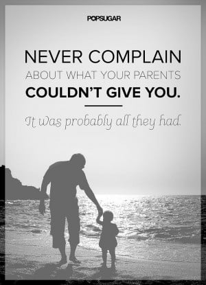 Appreciate Your Parents