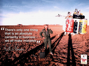 Don't be afraid of making mistakes – it's an essential part of ...