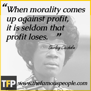 Shirley Chisholm Biography