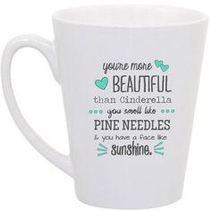 Bridesmaid Gift (at least for Sarah!) I want to make this mug.