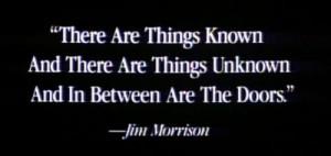 quotes Jim Morrison the doors 60's