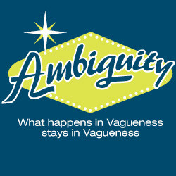 Ambiguity - What happens in Vagueness stays in Vagueness