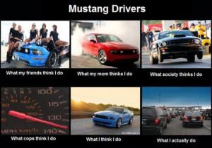 Funny Mustang Meme