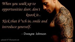 "Dwayne Johnson ""The Rock"" Quotes that Motivates You"