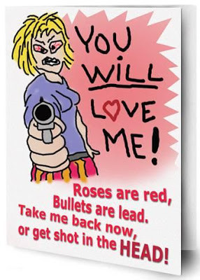 You Will Love Me - Be mine or I will shoot you