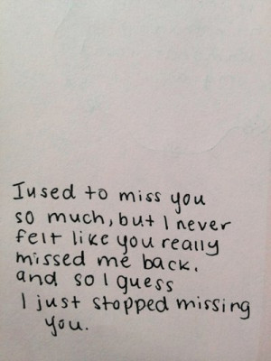 missing someone quotes   Tumblr/ When old friends arent around anymore