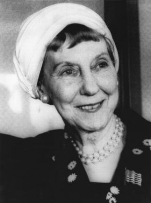 Mrs. Mamie Eisenhower, the former First lady, in a 1975 file photo ...