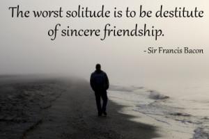 ... as friends, never lose a chance to make them. - Francesco Guicciardini