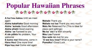 hawaiian phrases and sayings hawaiian words and phrases hawaiian words ...