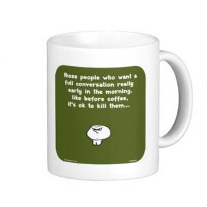 VM8645 vimrod early morning conversation coffee Coffee Mug