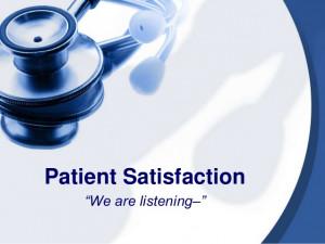 patient satisfaction source http slideshare net dirkrhodes patient ...