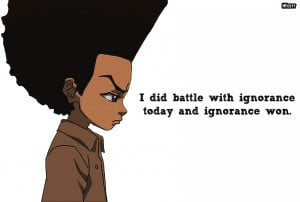 Huey Freeman Only Speaks The Truth / The Boondocks