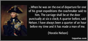 More Horatio Nelson Quotes
