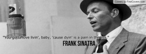 Frank Sinatra Profile Facebook Covers
