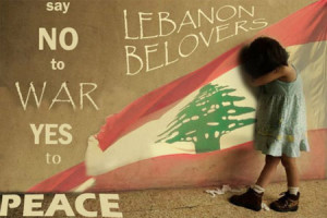 was the slogan of lebanese group when tens of thousands of lebanese ...