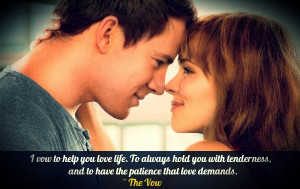 The Vow Quotes The vow