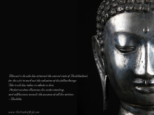 metal statue buddhahood