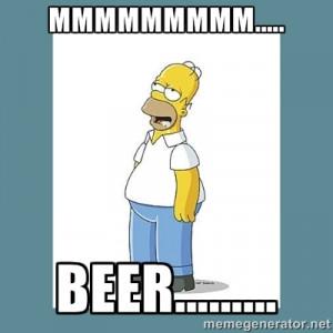 homer simpson mmm - Mmmmmmmmm..... Beer.....