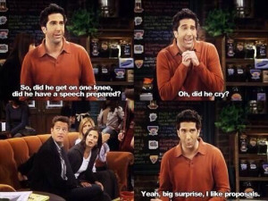 Ross quotes #friends