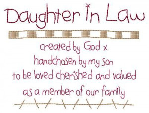 in law daughter daughter in law son son in lawMothers In Law Quotes ...