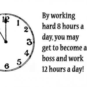 Passion Work Stress Quote