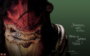 quotes Mass Effect Mass Effect 2 krogan Wrex wallpaper background