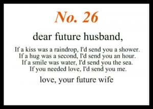 future husband