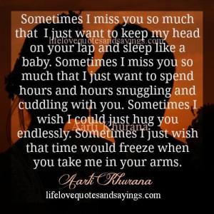 Miss You Honey..