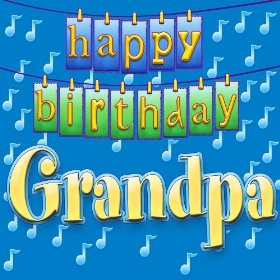 Happy Birthday Grandpa (Personalized)
