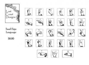 Sign Language Quotes Large sign language
