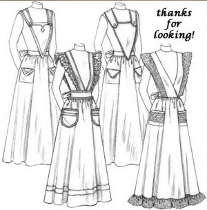 apron sewing patterns aprons pattern costumes aprons aprons sewing ...