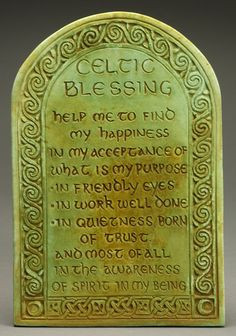 images blessings | Celtic Blessing Plaque-Midnight Moon-Art for the ...