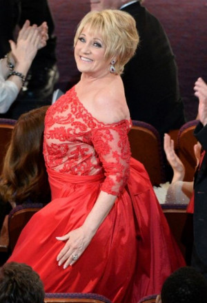 Lorna Luft at the 2014 Academy Awards