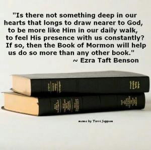 Quote by Ezra Taft Benson*