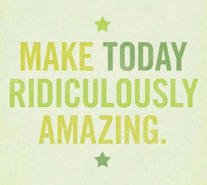 Have an amazing day! X