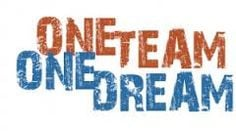 team one dream more team quotes sports quotes banner cheer football ...