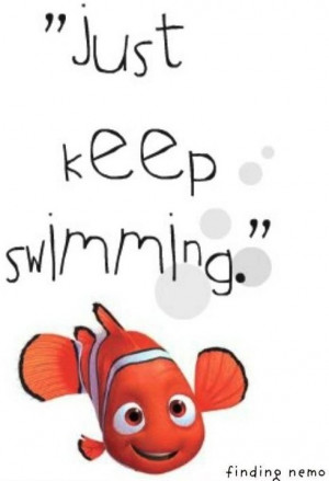 finding nemo quotes just keep swimming