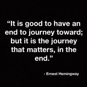 Funny Quotes About Life Lessons: It Is Good To Have An End To Journey ...
