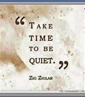 Zig. #quiet #quotes