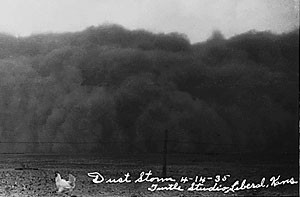 thrived economic success returned and the dust bowl was over