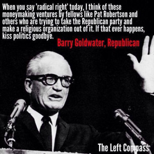 Barry Goldwater and the Religious Right